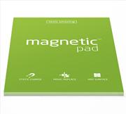 Magnetic Pad Her Yüzeye Yapışıp Çıkabilen Tutkalsız Statik Not Kağıdı - 50 li Yeşil/A3