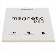 Magnetic Pad Her Yüzeye Yapışıp Çıkabilen Tutkalsız Statik Not Kağıdı - 50 li Şeffaf/A3