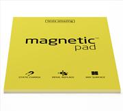 Magnetic Pad Her Yüzeye Yapışıp Çıkabilen Tutkalsız Statik Not Kağıdı - 50 li Sarı/A3