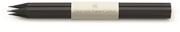 Graf von Faber-Castell Sedir Ağacı Guilloche İşlemeli Siyah gövdeli Kurşun Kalem 3 lü