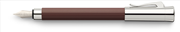 Graf von Faber-Castell Tamitio Marsala İnce Oluklu Desen Dolma Kalem