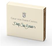 Graf von Faber-Castell Dolmakalem Kartuşu 6 lı - Deniz Yeşili