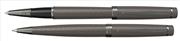 Scrikss Honour38 Karbon Gri/Krom Roller kalem + Versatil kalem Set<br><img src= resim/isyaz.gif  border= 0 />