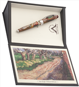 VISCONTI Van Gogh-Pollard Willows Vegetal Resin Dolma Kalem<br><img src= resim/mypenli.gif  border= 0 />