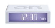 Lexon Flip LCD Alarmlı Saat ON/OFF Taraf Özellikli - Beyaz