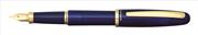 Platinum Balance Akrilik Reçine Lacivert/Altın Dolma Kalem - 2 Farklı Uç Seçeneği<br><img src= resim/isyaz.gif  border= 0 />