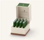 Graf von Faber-Castell Özel Saklama Kutulu Dolma kalem Kartuşu 20 adet - Yosun Yeşili
