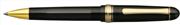 Platinum 3776 Century Tükenmez kalem - Transparan Siyah/Altın
