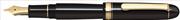 Platinum 3776 Century Dolma kalem - Siyah Reçine/Altın - UEF(Ultra Extra Fine)