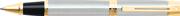 SHEAFFER 300 Parlak Lake Krom/Altın Roller kalem