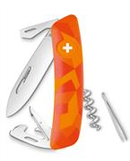 Swiza C03 Luceo Orange Camouflage Yeni Nesil İsviçre Cep Çakısı 6 Fonksiyonlu