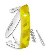 Swiza C03 Velor Yellow Camouflage Yeni Nesil İsviçre Cep Çakısı 6 Fonksiyonlu