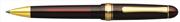 Platinum 3776 Century Tükenmez kalem - Transparan Burgonya Bordosu/Altın