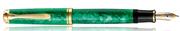 Pelikan K600 Souverän Vibrant Green Special Editions 24kt. Altın Aksam Dolma Kalem
