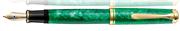 Pelikan M600 Souverän Vibrant Green Special Editions 24kt. Altın Aksam Dolma Kalem