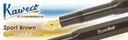 Kaweco Classic Sport Kahverengi/Altın Dolma Kalem - 3 Farklı Uç Seçeneği