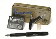 Kaweco Kaligrafi Dolma kalem 1.5mm-2.3mm İkili Set - Siyah