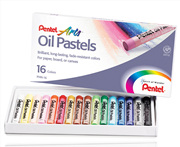 Pentel Arts Pastel Boya Yağli Phn16 16 Renk