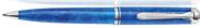 Pelikan K805 Souverän Vibrant Blue Akrilik Reçine/Paladyum Aksam Aksam Tükenmez Kalem