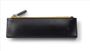Cross Bravo TrackR GPS Teknolojili Suni Deri Fermuarlı Kalem Kutusu - Siyah