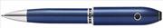 Cross Peerless TrackR GPS Teknolojili Kuvars Mavi Tükenmez Kalem