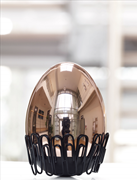TROIKA EI DES KOLUMBUS Yumurta Tasarımlı Masa Üstü Aksesuar- Pembe Altın