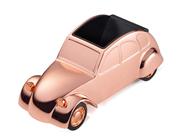 TROIKA ENTE Citroën 2CV Model Klasik Otomobil Tasarımlı Masa Kalemliği - Pembe Altın