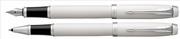 Parker IM Lake Beyaz/Krom Dolma Kalem + Roller Kalem