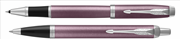 Parker IM Light Purple Brushed Metal CT RollerKalem + TükenmezKalem - Fırçalanmış Metal Açık Mor