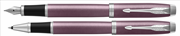 Parker IM Light Purple Brushed Metal CT DolmaKalem + RollerKalem - Fırçalanmış Metal Açık Mor
