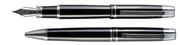Cordial Keen Parlak Siyah/Krom Dolma kalem + Tükenmez kalem