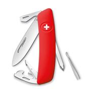 Swiza D04 Red Yeni Nesil İsviçre Cep Çakısı 6 Fonksiyonlu