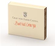 Graf von Faber-Castell Dolmakalem Kartuşu 6 lı - Yanık Turuncu