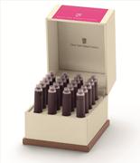 Graf von Faber-Castell Özel Saklama Kutulu Dolma kalem Kartuşu 20 adet - Elektrik Pembe