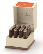 Graf von Faber-Castell Özel Saklama Kutulu Dolma kalem Kartuşu 20 adet - Yanık Turuncu