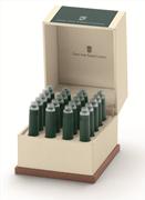 Graf von Faber-Castell Özel Saklama Kutulu Dolma kalem Kartuşu 20 adet - Derin Deniz Yeşil