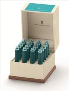 Graf von Faber-Castell Özel Saklama Kutulu Dolma kalem Kartuşu 20 adet - Turkuaz