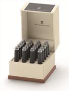Graf von Faber-Castell Özel Saklama Kutulu Dolma kalem Kartuşu 20 adet - Taş Gri