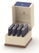 Graf von Faber-Castell Özel Saklama Kutulu Dolma kalem Kartuşu 20 adet - Royal Mavi