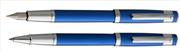 Oberthur Neptune Mat Lake Mavi Dolma kalem + Roller kalem
