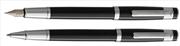 Oberthur Neptune Parlak Lake Siyah Dolma kalem + Roller kalem