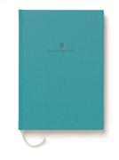 Graf von Faber-Castell Dikişli Keten Kapaklı Not Defteri A5 - Turkuaz