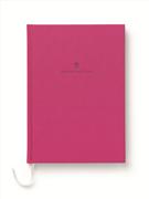 Graf von Faber-Castell Dikişli Keten Kapaklı Not Defteri A5 - Pembe