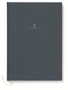 Graf von Faber-Castell Dikişli Keten Kapaklı Defter A4 - Lacivert