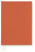 Graf von Faber-Castell Dikişli Keten Kapaklı Defter A4 - Yanık Turuncu