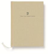 Graf von Faber-Castell Dikişli Keten Kapaklı Defter A4 - Altın Kahverengi