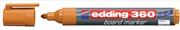 Edding Beyaz Tahta Kalemi Cap Off E-360 Turuncu