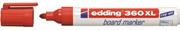 Edding Beyaz Tahta Kalemi Cap Off E-360xl Kirmizi