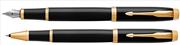 Parker IM Lake Siyah/Altın Dolma Kalem + Roller Kalem