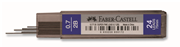 Faber-Castell S.Fine 75mm-24 lü KURŞUNKALEM UCU 0,7mm 2B